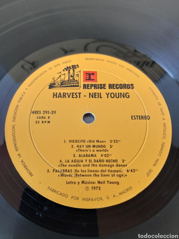 Discos de vinilo: NEIL YOUNG. HARVEST. REPRISE. 1972. SPAIN. HRES 291-39. - Foto 5 - 271955418