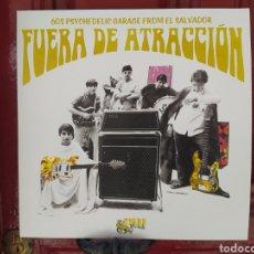 Discos de vinilo: FUERA DE ATRACCIÓN. 60S PSYCHEDELIC GARAGE FROM EL SALVADOR. LP VINILO NUEVO. Lote 271966213
