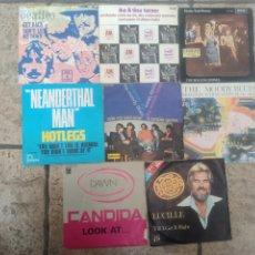 Discos de vinilo: LOTE SINGLE 72 UNIDADES THE BEATLE , THE ROLLINGS STONES , TINA TURNER , ROCÍO JURADO , SERRAT .... Lote 269475133