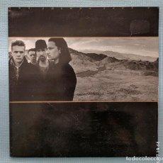 Disques de vinyle: U2 - THE JOSHUA TREE, CARPETA E INSERTO DOBLE. Lote 271986168