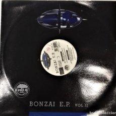 Discos de vinilo: BONZAI E.P. VOL.II- E.P- ED. ITALIANA- 1995. Lote 271995168