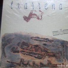 Discos de vinilo: TXARRENA. LP 1992 MERCURY. ENRIQUE VILLAREAL. EL DROGAS. BARRICADA. Lote 272001243