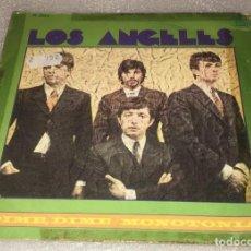 Disques de vinyle: SINGLE LOS ANGELES - DIME DIME - MONOTONIA - HISPAVOX H304 - PEDIDO MINIMO 7€. Lote 272012638