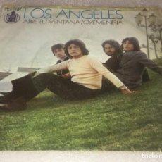 Disques de vinyle: SINGLE LOS ANGELES - ABRE TU VENTANA - OYEME NIÑA - HISPAVOX HS768 - PEDIDO MINIMO 7€. Lote 272012908