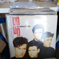 Discos de vinilo: QUN QUN DE CARNE Y HUESO MAXI SINGLE VINILO 1993. Lote 272026473