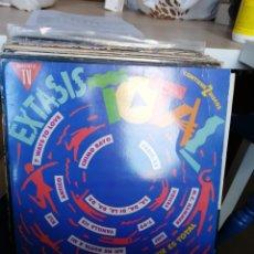 Discos de vinilo: EXTASIS- ESTO SI QUE ES TOTAL - DOBLE LP 1991-. Lote 272027863