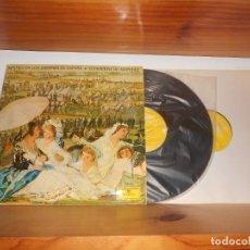 Disques de vinyle: NOCHES EN LOS JARDINES DE ESPAÑA - CONCIERTO DE ARANJUEZ - CANCIONES POPULARES CATALANAS- TENGO + LP. Lote 272027873