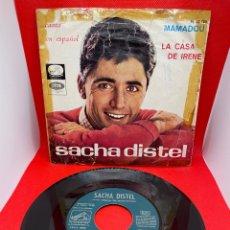 Discos de vinilo: SACHA DISTEL - MAMADOU - SINGLE DE VINILO EDICION ESPAÑOLA CANTADO EN ESPAÑOL 1966. Lote 272073893