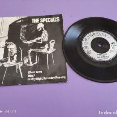 Discos de vinilo: JOYA EP. THE SPECIALS. GHOST TOWN/WHY/FRIDAY NIGHT SATURDAY MORNING. 1981 2 TONE.CHRYSALIS UK. Lote 272073913