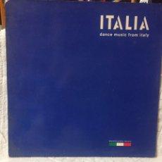 Discos de vinilo: DISCO 33 ITALIA DANCE MUSIC FROM ITALY. Lote 272074293