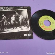 Discos de vinilo: SINGLE SKA. THE SPECIALS – RAT RACE/RUDE BOYS OUTA JAIL – SPAIN 1980 – 2TONE/CHRYSALIS A 101977. Lote 272076268