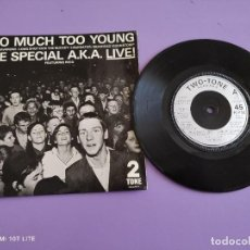 Discos de vinilo: JOYA EP SKA. THE SPECIAL AKA-LIVE. TOO MUCH TOO YOUNG+4. AÑO 1980. UK. 2 ZONE CHS TT7.THE SPECIALS.. Lote 272079773