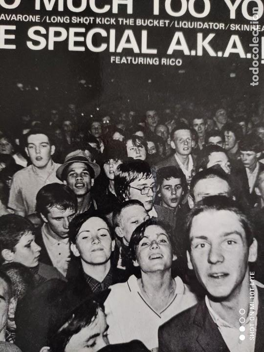 Discos de vinilo: JOYA EP SKA. THE SPECIAL AKA-LIVE. TOO MUCH TOO YOUNG+4. AÑO 1980. UK. 2 ZONE CHS TT7.THE SPECIALS. - Foto 3 - 272079773