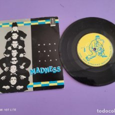 Discos de vinilo: EP. MADNESS WORK REST&PLAY.1980 STIFF UK ) NIGHT BOAT TO CAIRO DECEIVES THE EYE + 3. UK. AÑO 1980.. Lote 272084443
