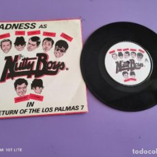 Discos de vinilo: DIFICIL SINGLE SKA. MADNESS. THE RETURN OF LOS PALMAS/THAT´S THE WAY TO DO IT/UK IN 1981. BUY 108.. Lote 272086963