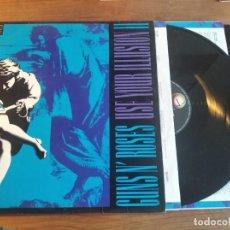 Disques de vinyle: GUNS N' ROSES – USE YOUR ILLUSION II ** RARO LP ESPAÑOL DOBLE 1991 *** BUEN ESTADO *** HARD ROCK. Lote 272090698