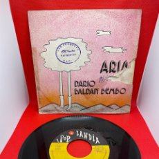 Discos de vinilo: DARIO BALDAN BEMBO: ARIA / NICO 1975. Lote 272095413