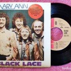 """Discos de vinilo: 7"""" BLACK LACE - MARY ANN - EMI 8E 006 07013 F - SINGLE - PORTUGAL PRESS (VG/EX+) EUROVISION 79. Lote 272123183"""