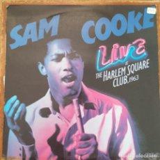 Discos de vinilo: SAM COOKE - LIVE AT THE HARLEM SQUARE CLUB 1963 (LP) 1985. Lote 272188868