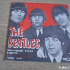 Discos de vinilo: SINGLE. THE BEATLES. STRAWBERRY...ORIGINAL 1967. BUENA CONSEWRVACION. Lote 272198523