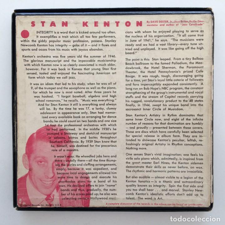 Discos de vinilo: Stan Kenton And His Orchestra – Artistry In Rhythm Box 4 Singles USA,1949 Capitol - Foto 2 - 272215808