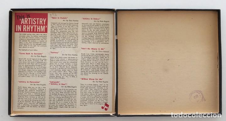Discos de vinilo: Stan Kenton And His Orchestra – Artistry In Rhythm Box 4 Singles USA,1949 Capitol - Foto 3 - 272215808