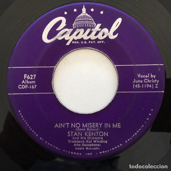 Discos de vinilo: Stan Kenton And His Orchestra – Artistry In Rhythm Box 4 Singles USA,1949 Capitol - Foto 4 - 272215808