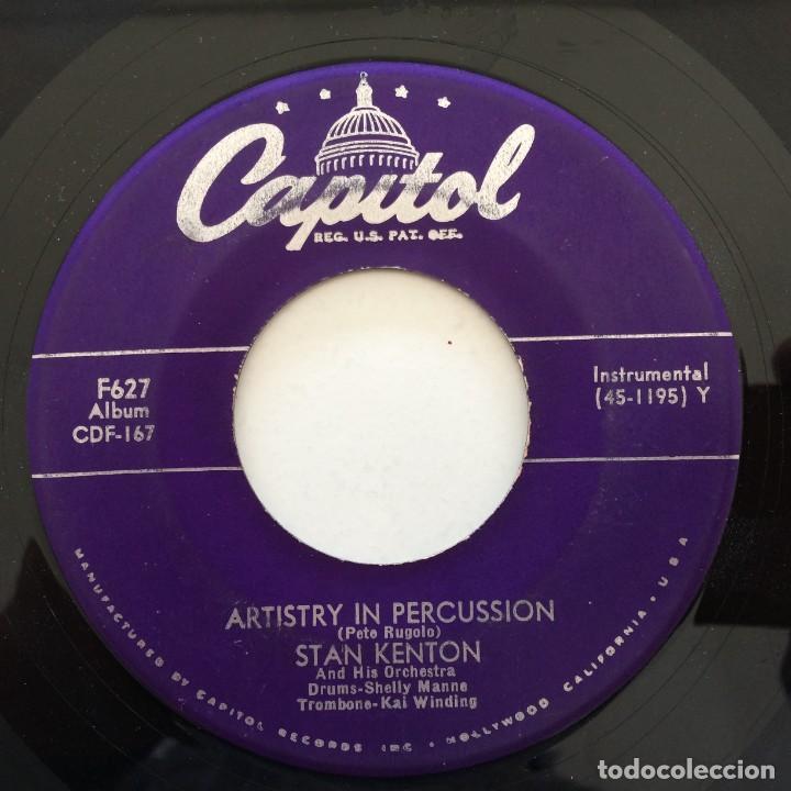 Discos de vinilo: Stan Kenton And His Orchestra – Artistry In Rhythm Box 4 Singles USA,1949 Capitol - Foto 5 - 272215808