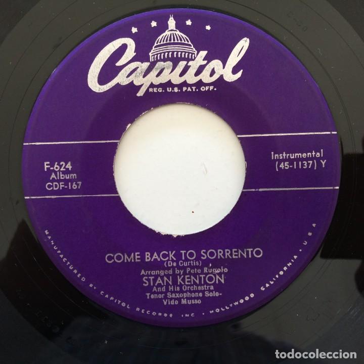 Discos de vinilo: Stan Kenton And His Orchestra – Artistry In Rhythm Box 4 Singles USA,1949 Capitol - Foto 6 - 272215808