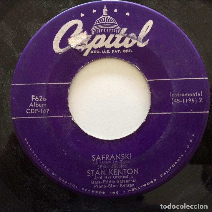 Discos de vinilo: Stan Kenton And His Orchestra – Artistry In Rhythm Box 4 Singles USA,1949 Capitol - Foto 10 - 272215808