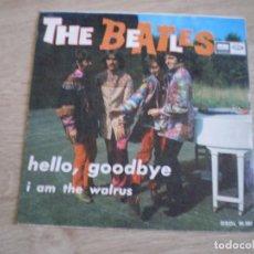 Discos de vinilo: SINGLE. THE BEATLES. HELLO, GGODBYE. ORIGINAL 1967.. Lote 272223068