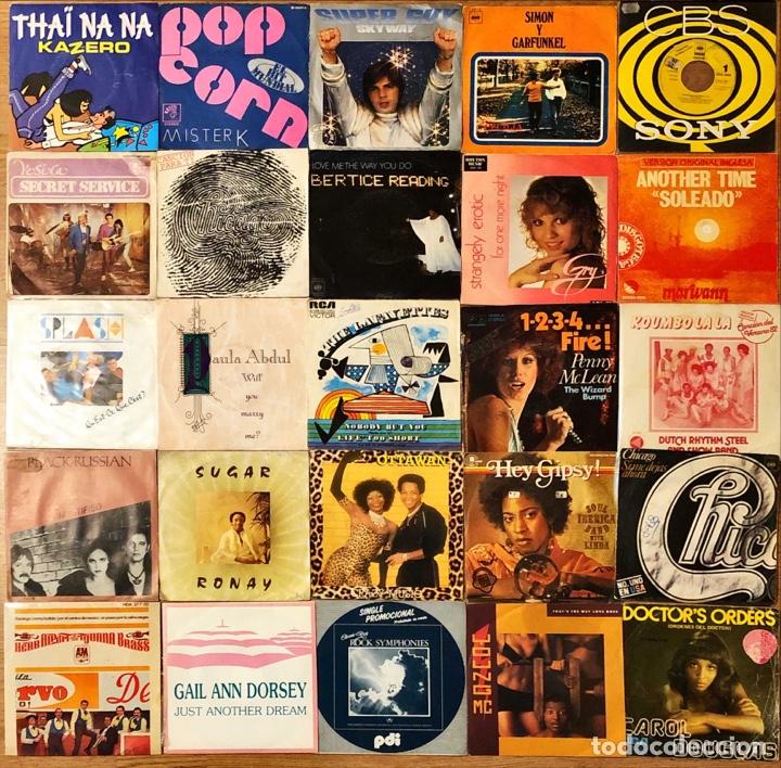Discos de vinilo: Lote 50 singles internacional variado - Foto 2 - 272247993