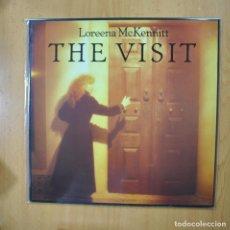 Disques de vinyle: LOREENA MCKENNITT - THE VISIT - LP. Lote 272253328