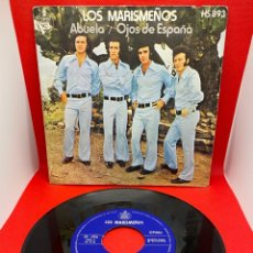 Discos de vinilo: LOS MARISMEÑOS - ABUELA / OJOS DE ESPAÑA - 1972. Lote 272253428