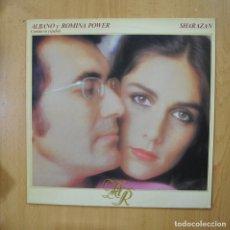 Disques de vinyle: AL BANO Y ROMINA POWER - SHARAZAN - LP. Lote 272255163