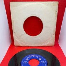 Discos de vinilo: MARCHAS E HIMNOS AMERICANOS 1961 DISNEYLAND SINGLE. Lote 272257853