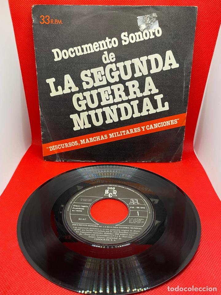 DOCUMENTO SONORO DE LA SEGUNDA GUERRA MUNDIAL - 1979 EP 33RPM (Música - Discos de Vinilo - EPs - Otros estilos)