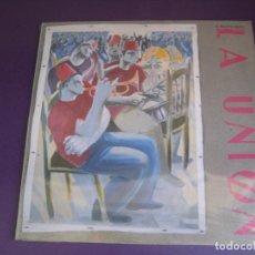 Disques de vinyle: LA UNIÓN – EL MALDITO VIENTO - LP WEA 1985 PRECINTADO - MOVIDA POP 80'S -. Lote 272342523