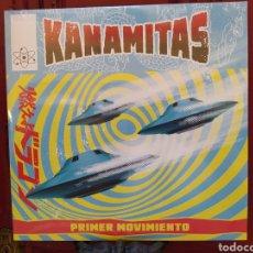 Discos de vinilo: KANAMITAS –PRIMER MOVIMIENTO. VINILO 10 PULGADAS. PUNK-ROCK. PRECINTADO.. Lote 272363198