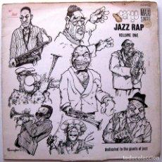 Discos de vinilo: CARGO - JAZZ RAP VOLUME ONE - MAXI SERDISCO 1986 BPY. Lote 272380233