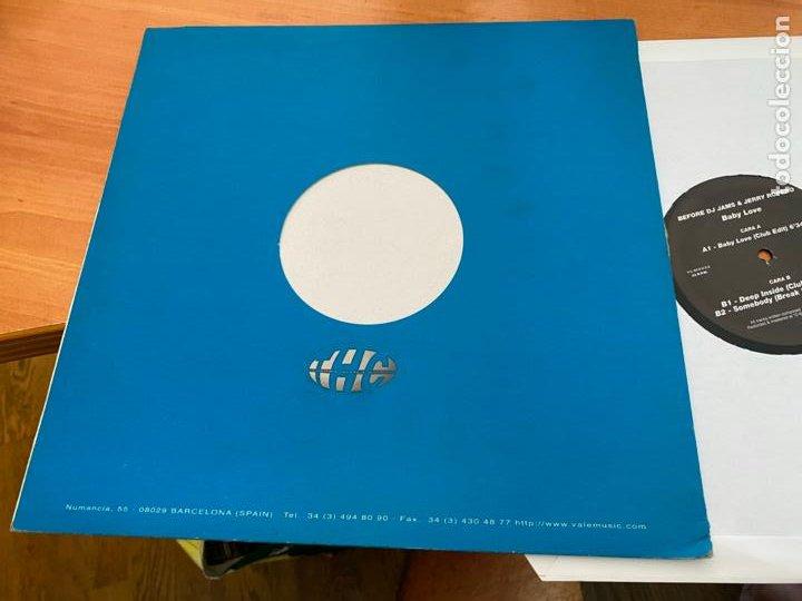 Discos de vinilo: BEFORE DJ JAMES & JERRY ROPERO (BABY LOVE) MAXI 1996 ESPAÑA (B-31) - Foto 3 - 272397083