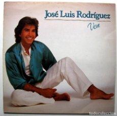 Discos de vinilo: JOSÉ LUIS RODRÍGUEZ - VEN - LP EPIC 1983 PROMO BPY. Lote 272454453