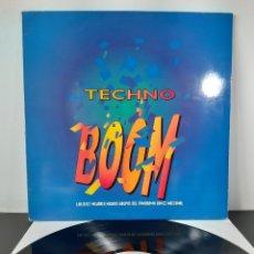 Discos de vinilo: TECHNO BOOM. LP. GINGER MUSIC 1994. VARIOS.. Lote 272469943
