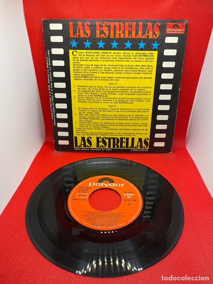 Discos de vinilo: 6 TEMAS DE CINE - CANTANDO BAJO LA LLUVIA / LA CONQUISTA DEL OESTE / DR. ZHIVAGO - POLYDOR - 1980 - Foto 2 - 272472823