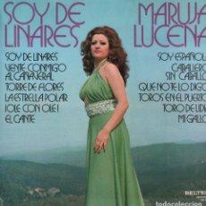 Discos de vinilo: MARUJA LUCENA - SOY DE LINARES / LP BELTER DE 1975 / BUEN ESTADO RF-9774. Lote 272529813