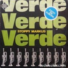 Discos de vinilo: STOPPY MARKUS – VERDE - SINGLE TELEFUNKEN 1976. Lote 297102193