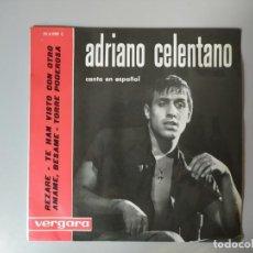 Discos de vinilo: ADRIANO CELENTANO - REZARE. Lote 272587538