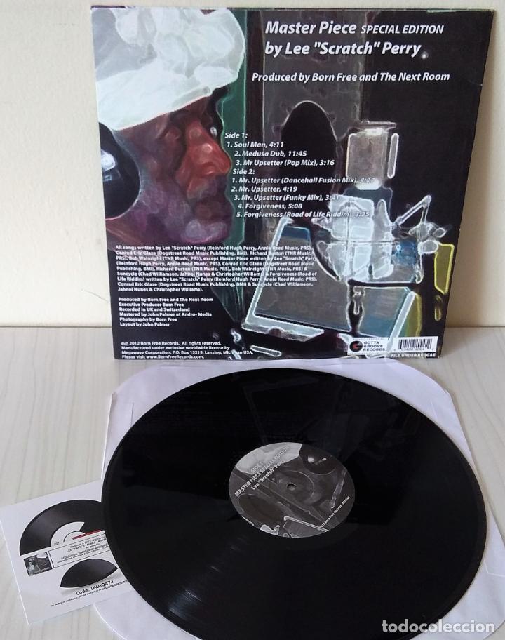 Discos de vinilo: LEE SCRATCH PERRY - MASTER PIECE SPECIAL EDITION EP MAXI BORN FREE - 2012 - Foto 2 - 272738798
