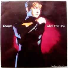 Discos de vinilo: ATLANTA - WHAT CAN I DO / DON'T STOP (I LIKE IT) - MAXI BLANCO Y NEGRO 1998 BPY. Lote 272742773