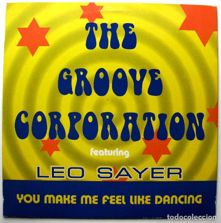 THE GROOVE GENERATION WITH LEO SAYER - YOU MAKE ME FEEL LIKE DANCING - MAXI MAX MUSIC 1998 BPY (Música - Discos de Vinilo - Maxi Singles - Techno, Trance y House)